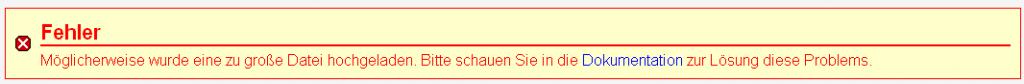 phpmyadmin-fehler