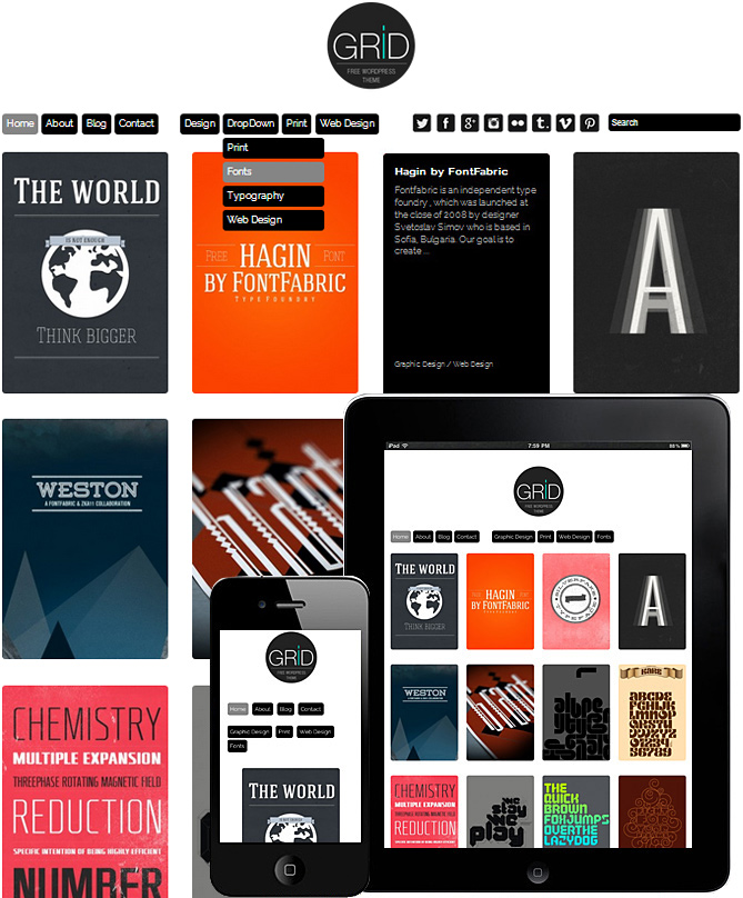 kostenlose-responsive-templates-wordpress-grid